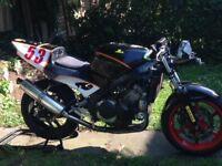 Honda cbr 600 race bike