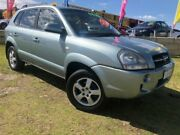 2008 Hyundai Tucson JM MY07 City SX Silver 4 Speed Sports Automatic Wagon Wangara Wanneroo Area Preview