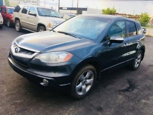 2007 Acura RDX SHAWD TURBO, Leather Heated Seats, Sunroof, Clean