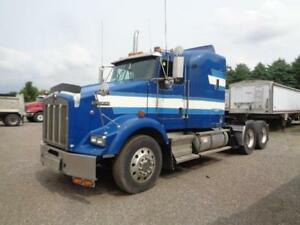 2006 KENWORTH T800, REBUILT CAT C13 ENGINE.