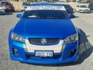 2009 Holden Commodore VE MY09.5 SS-V Blue 6 Speed Manual Utility