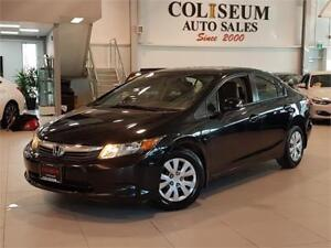 2012 Honda Civic Sdn LX AUTOMATIC-ONLY 58000KM!!