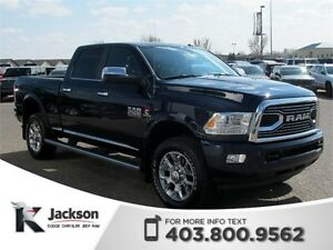 2016 Ram 2500 Limited Diesel - Heated/Ventilated Leather, Nav