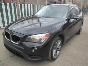 2014 BMW X1 4WD  PANORAMIC ROOF  FINANCEMENT  MAISON $69 SEMAINE