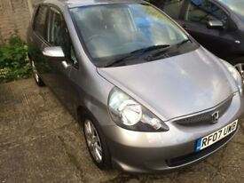 HONDA JAZZ 1.4 SE 2007, AUTOMATIC, ONLY 55,000 MILES, RECENTLY SERVICED, ALL ELECTRIC WINDOWS