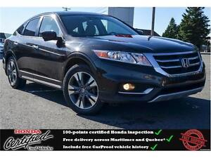 2014 Honda Crosstour EX-L Leather Interior, Backup Camera, Sunro