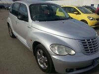CHRYSLER PT CRUISER 55 REG 2.2 CRD DIESEL LEATHER CHROME ALLOYS LIMITED EDITION MERCEDES C220 ENGINE