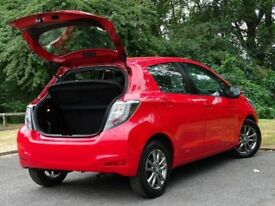 TOYOTA YARIS 1.4 D-4D ICON PLUS 5d (red) 2014