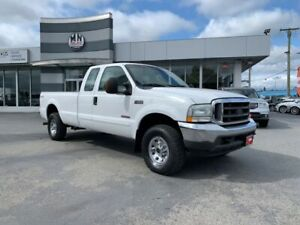 2003 Ford F-250 XLT 4WD DIESEL LONG BOX ONLY 180KM