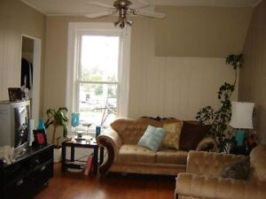 2 bedroom 2nd floor apartment in century home
