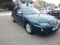 2004 ROVER 75 2.0 CDTi, TURBO DIESEL, AUTO, CONNOISSUER SE AUTOMATIC, LOW MILEAGE, ONLY 74K