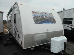 WOW! NorthTrail 32' with Bunk Room, 2 Slides, outdoor Kitchen.