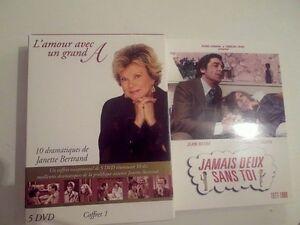 DVD L'amour avec un grand A et DVD Jamais deux sans toi
