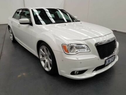 2012 Chrysler 300 MY12 SRT8 White 5 Speed Automatic Sedan