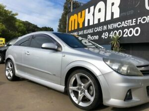2006 Holden Astra AH MY06.5 SRi Silver 6 Speed Manual Coupe