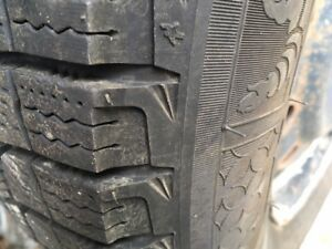 4 winter tires and rims - ***2 NEW*** michelin 225/60 R16