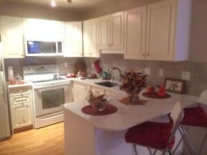 Executive 2 BR Sask Drive condo for rent.