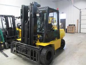 HYSTER FORKLIFT 9000LB CAPACITY DULLY DRIVE WITH SIDE SHIFT A+++
