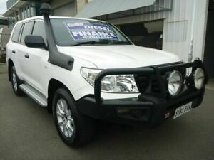 2015 Toyota Landcruiser VDJ200R MY13 GX White 6 Speed Sports Automatic Wagon Edwardstown Marion Area Preview