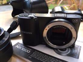 Samsung NX1000 Smart Camera TFT LCD