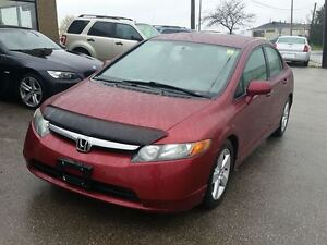 2008 Honda Civic LX Sedan 153 Kms $6395 Certified
