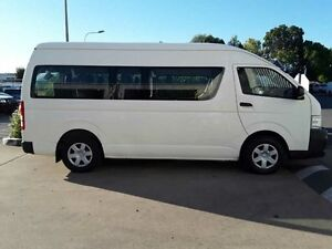 2011 Toyota Hiace TRH223R MY11 Commuter High Roof Super LWB White Solid 4 Speed Automatic Bus Acacia Ridge Brisbane South West Preview
