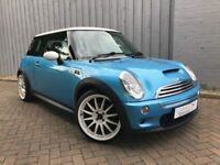 Mini Cooper 1.6 S, Fabulous Low Low Miles, Half Leather, Excellent Service History, Gorgeous in Blue