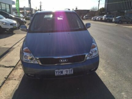 2011 Kia Carnival VQ MY11 S Blue 4 Speed Automatic Wagon Fyshwick South Canberra Preview