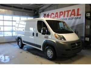 2018 Ram ProMaster Cargo Van Low Roof 136 WB   Back Up Camera