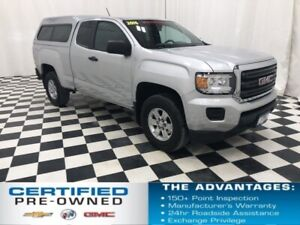 2016 Gmc Canyon 4x4 Ext Cab with Cap