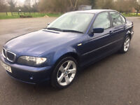 2004 BMW 316i LOW MILEAGE LOTS OF EXTRAS - SAT NAV £1450