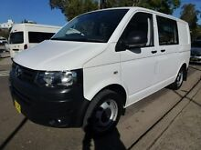 2014 Volkswagen Transporter T5 MY14 TDI 400 SWB Low 7 Speed Automatic Van Homebush West Strathfield Area Preview