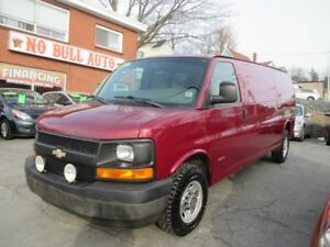 2008 Chevrolet Express Standard Duramax Diesel, Long Wheel Base