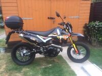 Only Done 150 Miles 250cc Pulse Adrenaline Supermoto Scrambler Enduro Trails Motorcycle -Only 1.500