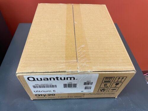 Quantum MR-L6MQN-03 - 20 Pack LTO Ultium 6 Data Catridge