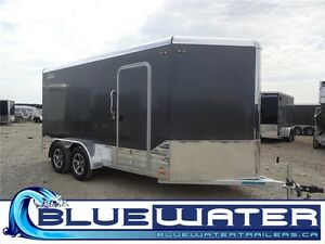 2016 Legend Aluminum DVN 7 x 17!! WITH WHITE WALLS & CEILING!!