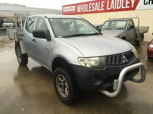 2007 Mitsubishi Triton ML MY08 GLX 4 Speed Automatic Dual Cab Utility Laidley Lockyer Valley Preview