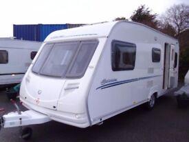 2008 Sterling Europa 530 inc Awning 5 Berth Touring Caravan.