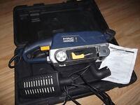 230 V 800 watt MacAllister belt sander