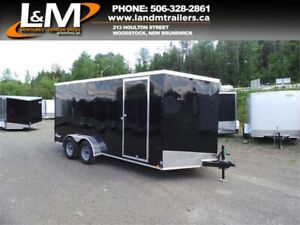 NEW 2020 CARGO EXPRESS 7X16' ENCLOSED CARGO TRAILER