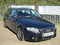 AUDI A4 AVANT 2.0 TDI S LINE AUTO ESTATE 2007 (07) ONLY 95K FSH & CAMBELT / A/C!