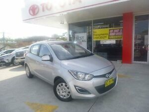 2012 Hyundai i20 PB MY12.5 Active Silver 4 Speed Automatic Hatchback Allawah Kogarah Area Preview