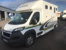 Peugeot Boxer EQUITREK Horse BOX REDUCED PRICE!!!!