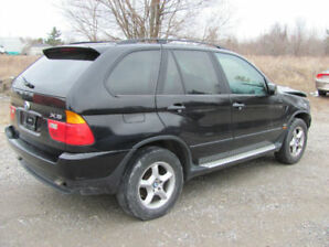 2001 BMW X5 SUV (Entire vehicle minus engine or nothing)