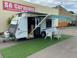 REGAL E-SERIES 17' POP TOP with AIR COND. and ANNEX WALLS Klemzig Port Adelaide Area Preview
