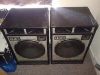 Hendy PA Speakers & Amp