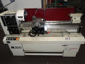HARRISON M300 GAP BED CENTRE LATHE 40 INCH CENTRES YEAR 2006