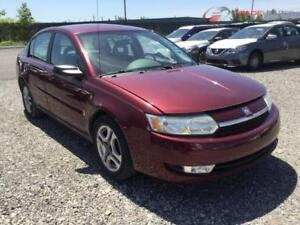 2003 SATURN ION AUTOMATIQUE CLIMATISEE 4CYLINDRES PROPRE