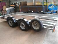 BRIAN JAMES A-Series Car Carrying Twin Axle Trailer