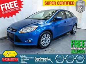 2012 Ford Focus SE *Warranty* $90.52 Bi-Weekly OAC